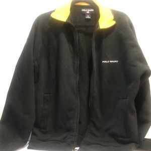 Polo Sport warm zip up jacket